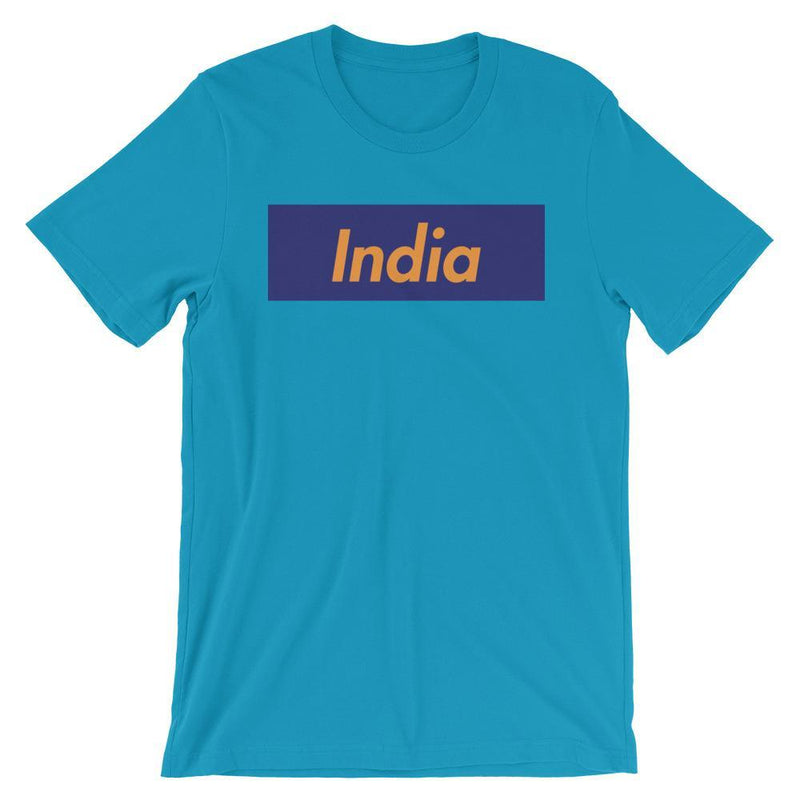 Repparel India Aqua / S Hypebeast Streetwear Eco-Friendly Full Cotton T-Shirt