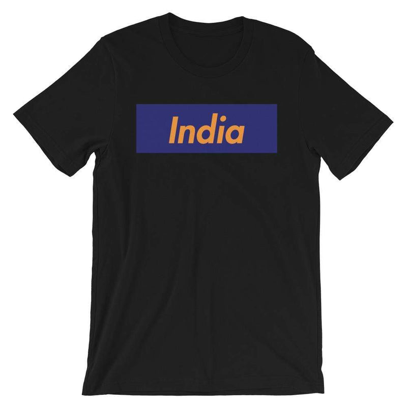 Repparel India Black / XS Hypebeast Streetwear Eco-Friendly Full Cotton T-Shirt