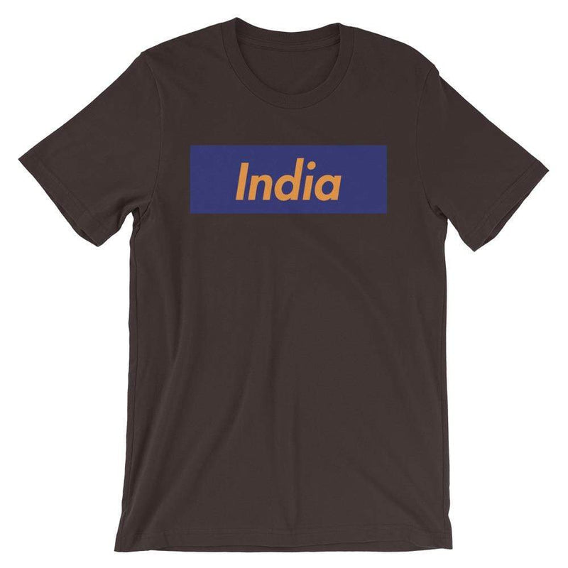 Repparel India Brown / S Hypebeast Streetwear Eco-Friendly Full Cotton T-Shirt