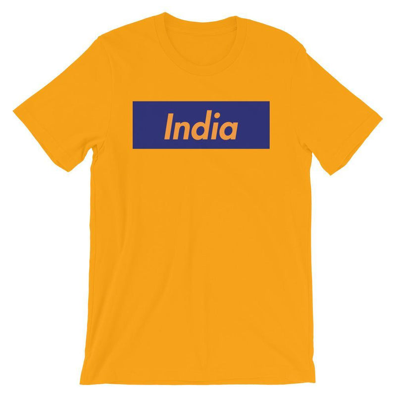 Repparel India Gold / S Hypebeast Streetwear Eco-Friendly Full Cotton T-Shirt