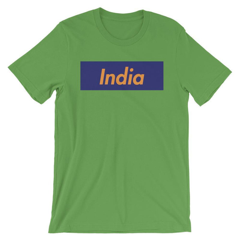 Repparel India Leaf / S Hypebeast Streetwear Eco-Friendly Full Cotton T-Shirt