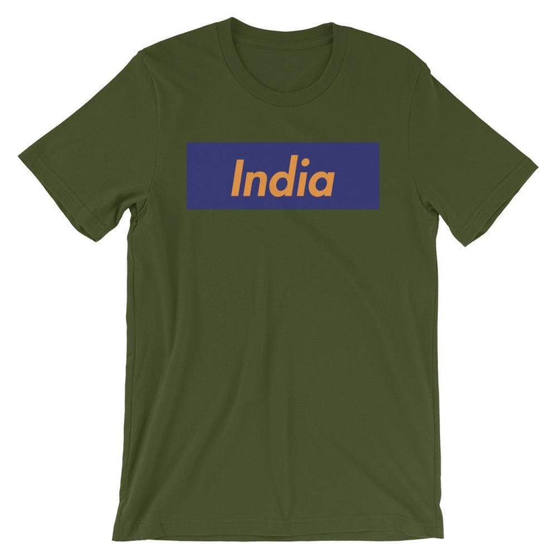Repparel India Olive / S Hypebeast Streetwear Eco-Friendly Full Cotton T-Shirt