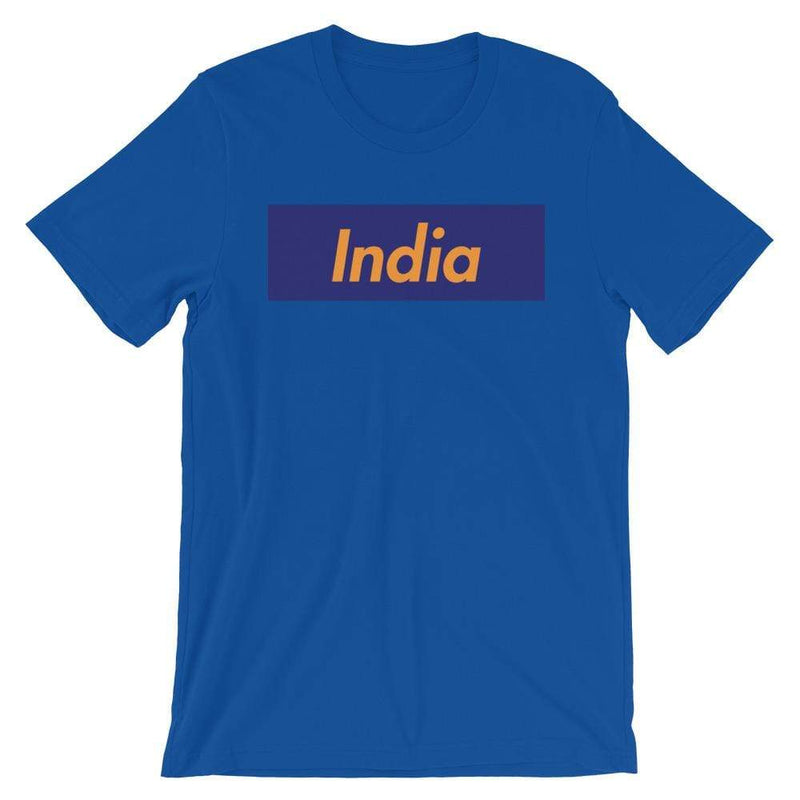 Repparel India True Royal / S Hypebeast Streetwear Eco-Friendly Full Cotton T-Shirt