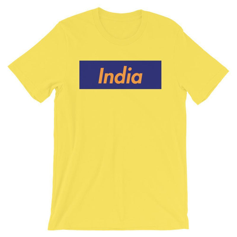 Repparel India Yellow / S Hypebeast Streetwear Eco-Friendly Full Cotton T-Shirt