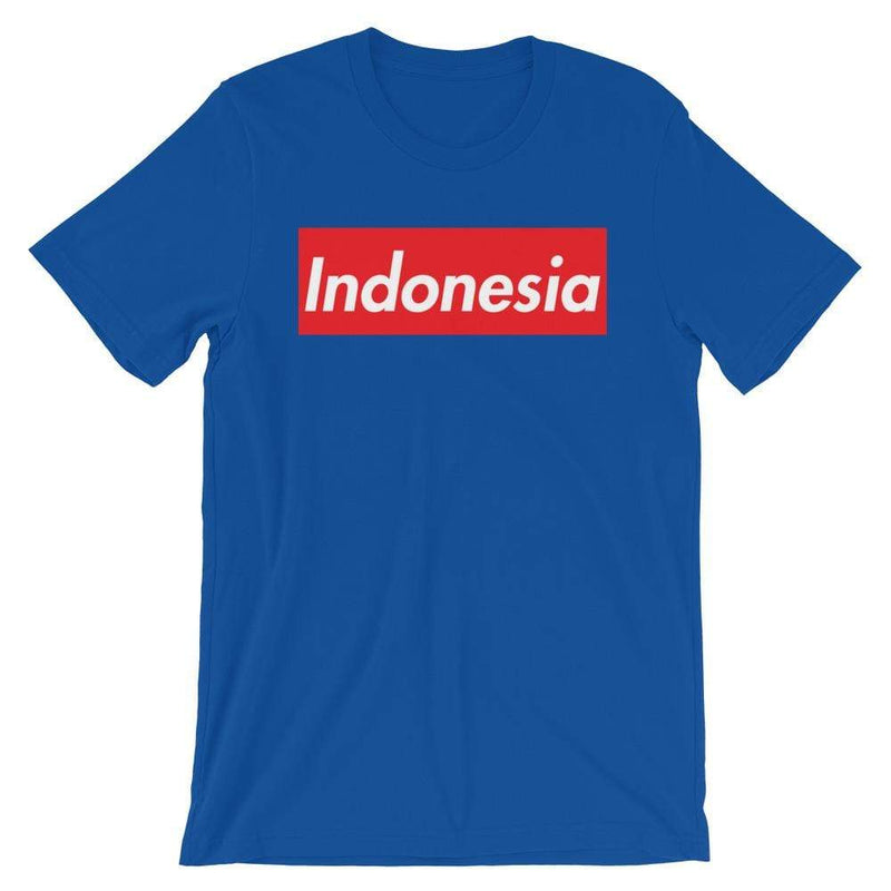 Repparel Indonesia True Royal / S Hypebeast Streetwear Eco-Friendly Full Cotton T-Shirt