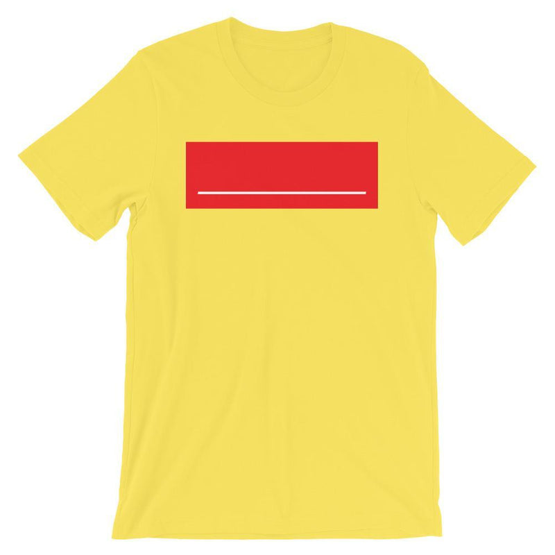 Repparel Insert Text Here Yellow / S Hypebeast Streetwear Eco-Friendly Full Cotton T-Shirt