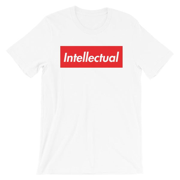 Repparel Intellectual White / XS Hypebeast Streetwear Eco-Friendly Full Cotton T-Shirt