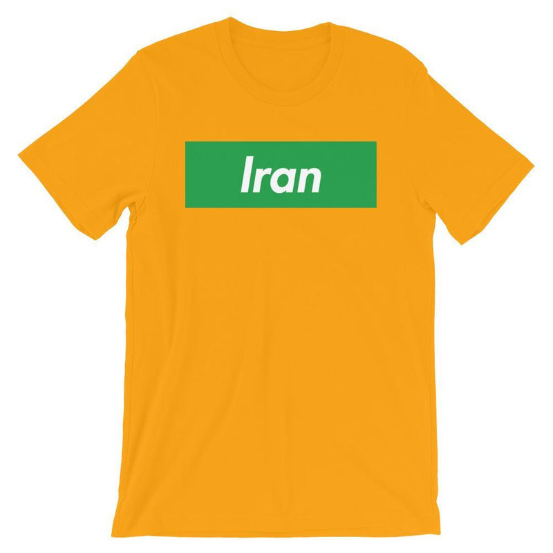Repparel Iran Gold / S Hypebeast Streetwear Eco-Friendly Full Cotton T-Shirt
