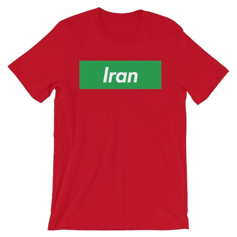Repparel Iran Red / S Hypebeast Streetwear Eco-Friendly Full Cotton T-Shirt