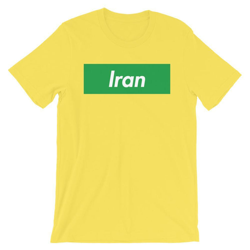 Repparel Iran Yellow / S Hypebeast Streetwear Eco-Friendly Full Cotton T-Shirt