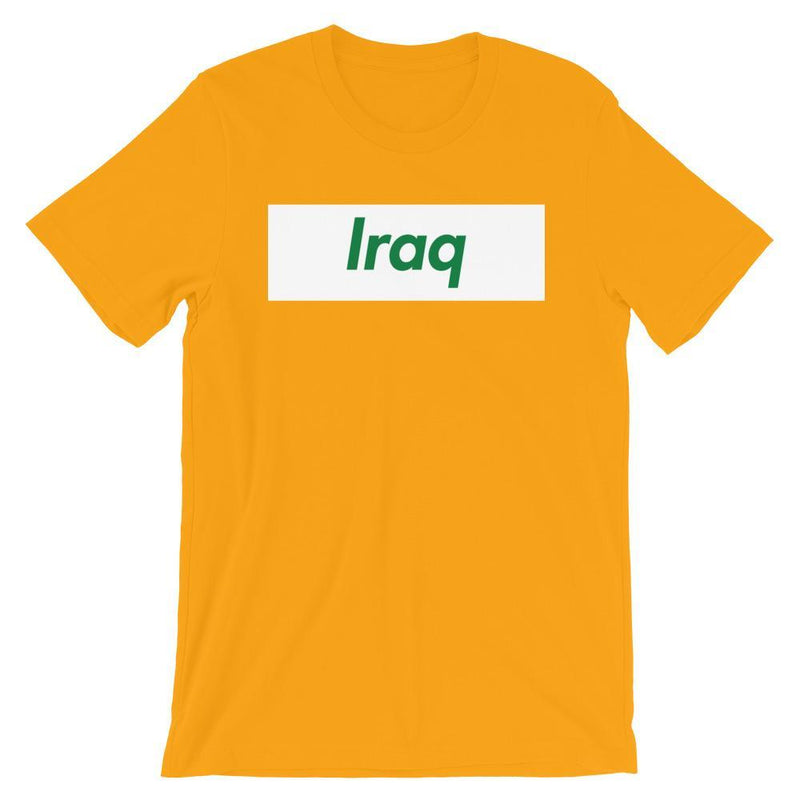 Repparel Iraq Gold / S Hypebeast Streetwear Eco-Friendly Full Cotton T-Shirt