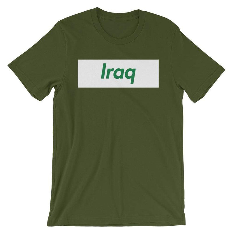 Repparel Iraq Olive / S Hypebeast Streetwear Eco-Friendly Full Cotton T-Shirt