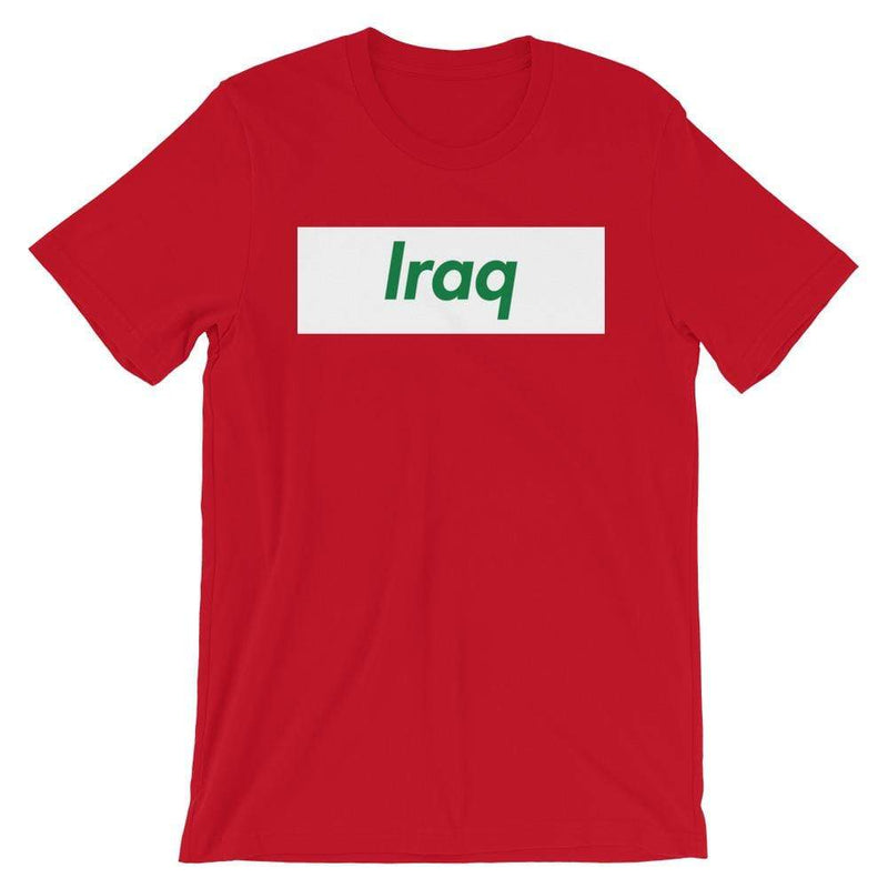 Repparel Iraq Red / S Hypebeast Streetwear Eco-Friendly Full Cotton T-Shirt