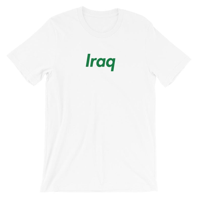 Repparel Iraq White / XS Hypebeast Streetwear Eco-Friendly Full Cotton T-Shirt