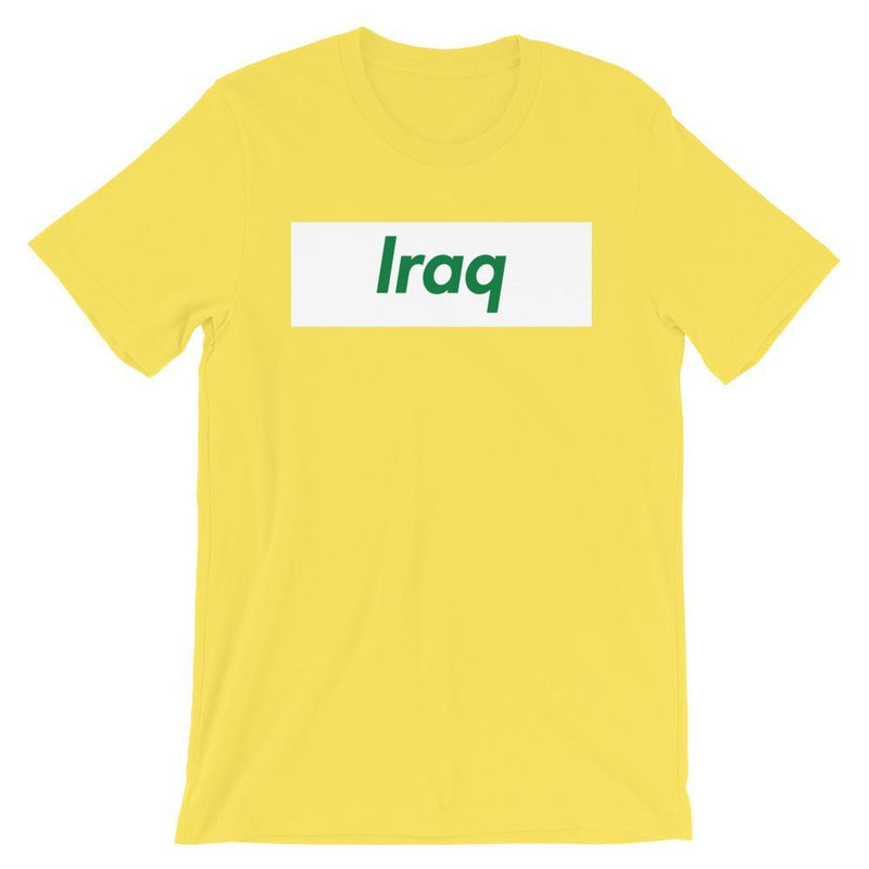 Repparel Iraq Yellow / S Hypebeast Streetwear Eco-Friendly Full Cotton T-Shirt
