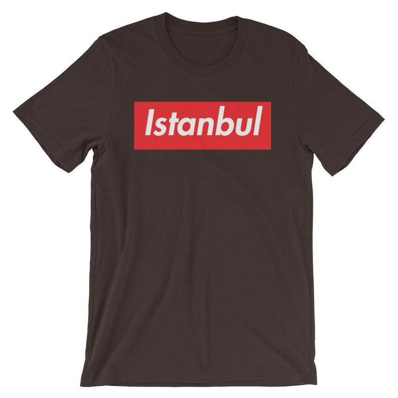 Repparel Istanbul Brown / S Hypebeast Streetwear Eco-Friendly Full Cotton T-Shirt