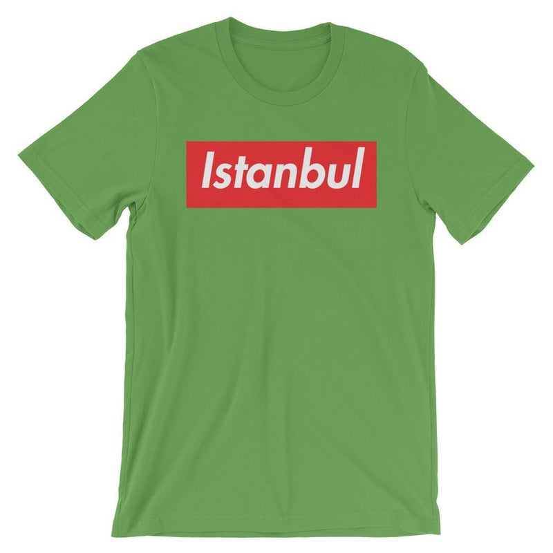 Repparel Istanbul Leaf / S Hypebeast Streetwear Eco-Friendly Full Cotton T-Shirt