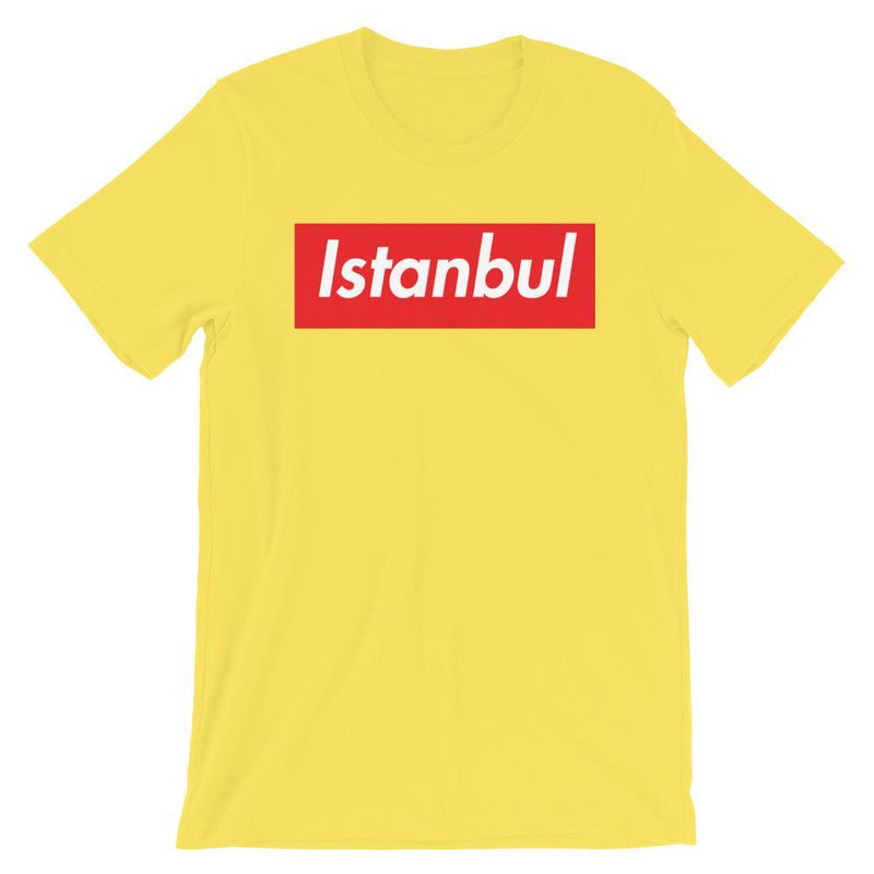 Repparel Istanbul Yellow / S Hypebeast Streetwear Eco-Friendly Full Cotton T-Shirt
