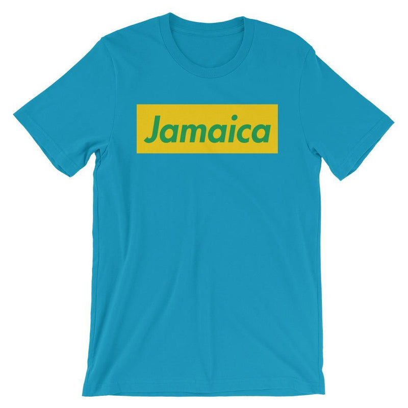 Repparel Jamaica Aqua / S Hypebeast Streetwear Eco-Friendly Full Cotton T-Shirt