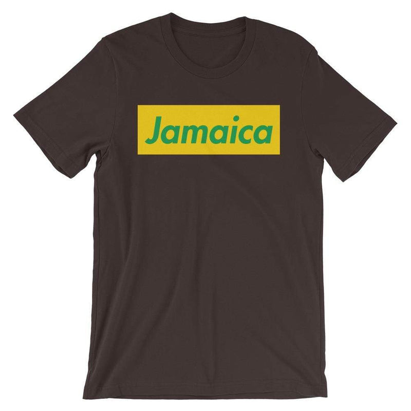 Repparel Jamaica Brown / S Hypebeast Streetwear Eco-Friendly Full Cotton T-Shirt