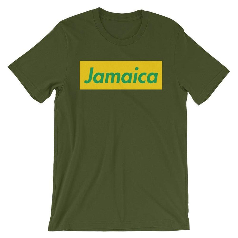 Repparel Jamaica Olive / S Hypebeast Streetwear Eco-Friendly Full Cotton T-Shirt