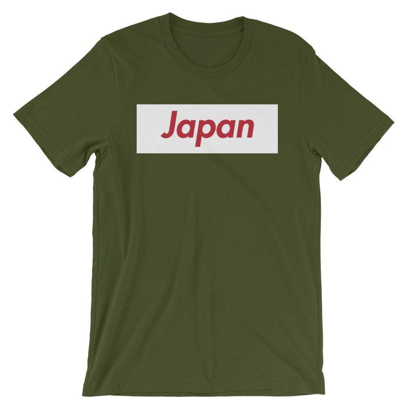 Repparel Japan Olive / S Hypebeast Streetwear Eco-Friendly Full Cotton T-Shirt