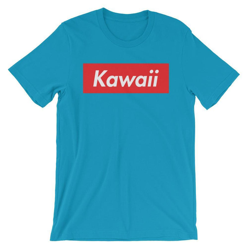 Repparel Kawaii Aqua / S Hypebeast Streetwear Eco-Friendly Full Cotton T-Shirt