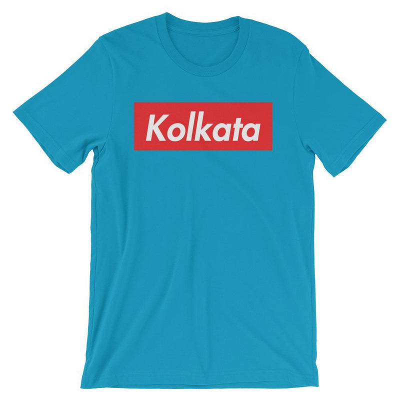 Repparel Kolkata Aqua / S Hypebeast Streetwear Eco-Friendly Full Cotton T-Shirt