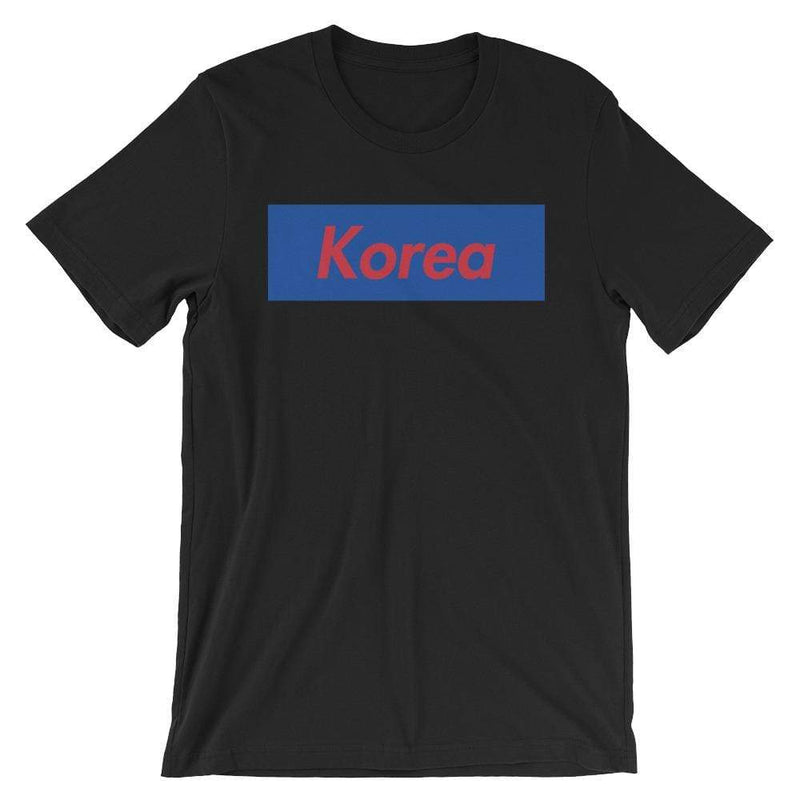 Repparel Korea Black / XS Hypebeast Streetwear Eco-Friendly Full Cotton T-Shirt
