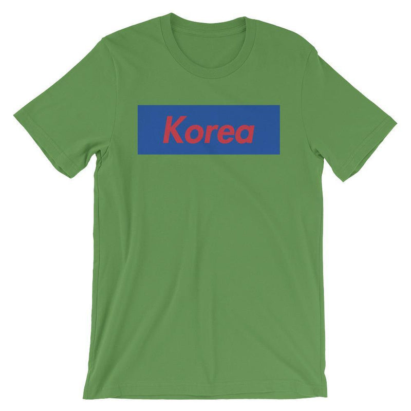 Repparel Korea Leaf / S Hypebeast Streetwear Eco-Friendly Full Cotton T-Shirt