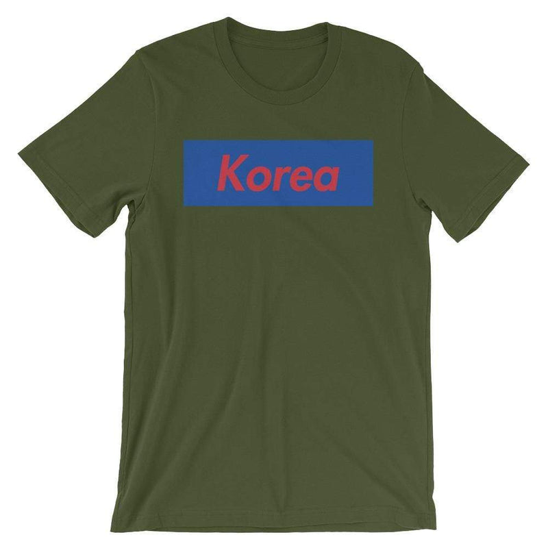 Repparel Korea Olive / S Hypebeast Streetwear Eco-Friendly Full Cotton T-Shirt