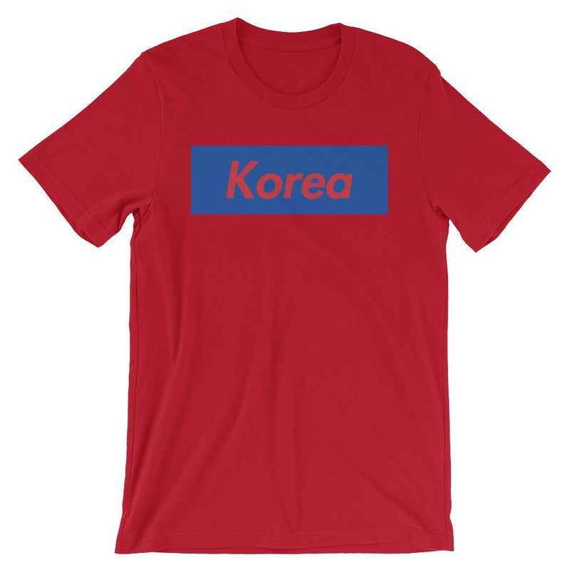 Repparel Korea Red / S Hypebeast Streetwear Eco-Friendly Full Cotton T-Shirt