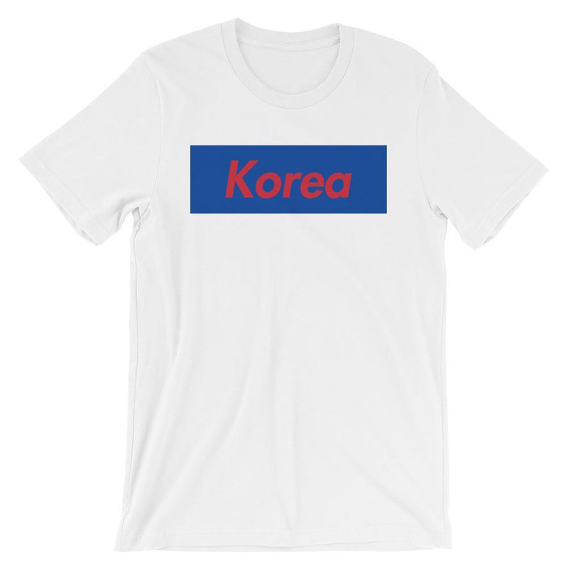 Repparel Korea White / XS Hypebeast Streetwear Eco-Friendly Full Cotton T-Shirt