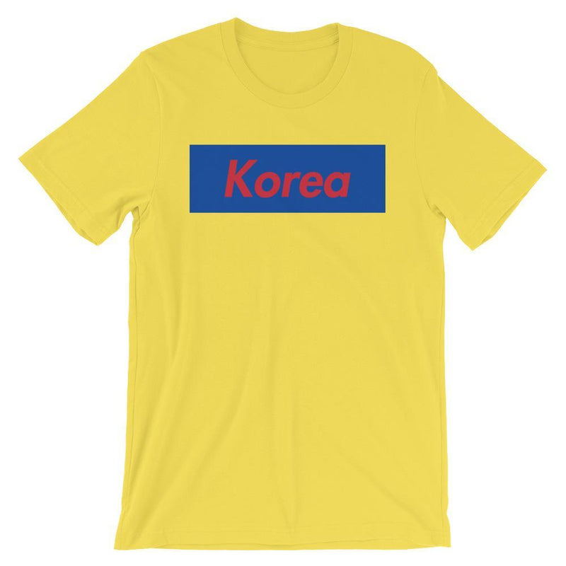 Repparel Korea Yellow / S Hypebeast Streetwear Eco-Friendly Full Cotton T-Shirt