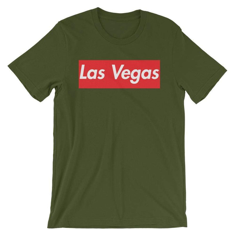 Repparel Las Vegas Olive / S Hypebeast Streetwear Eco-Friendly Full Cotton T-Shirt