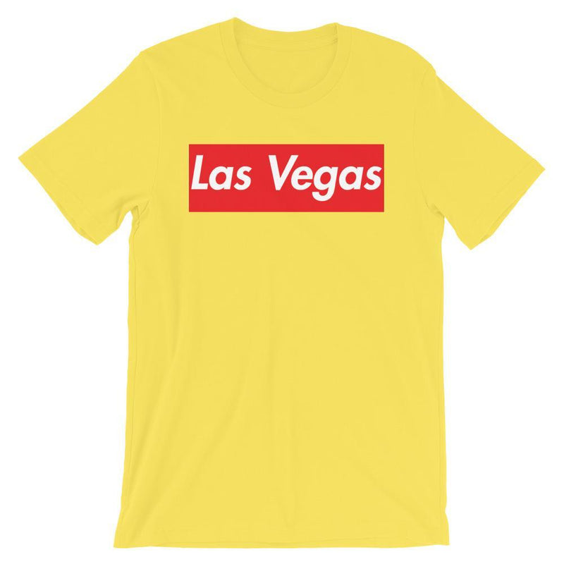 Repparel Las Vegas Yellow / S Hypebeast Streetwear Eco-Friendly Full Cotton T-Shirt