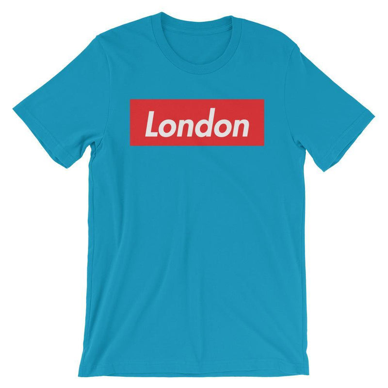 Repparel London Aqua / S Hypebeast Streetwear Eco-Friendly Full Cotton T-Shirt