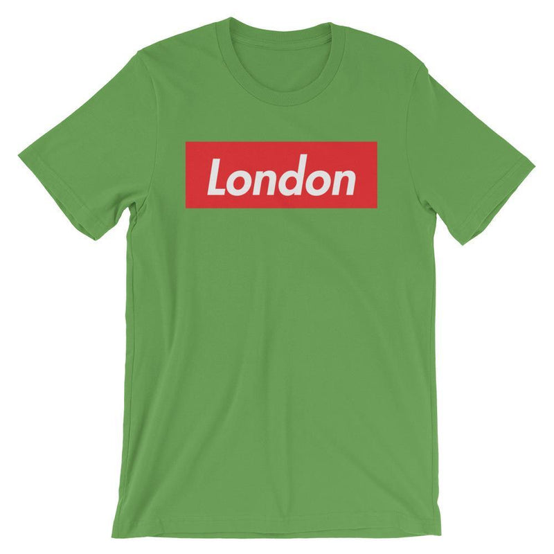 Repparel London Leaf / S Hypebeast Streetwear Eco-Friendly Full Cotton T-Shirt