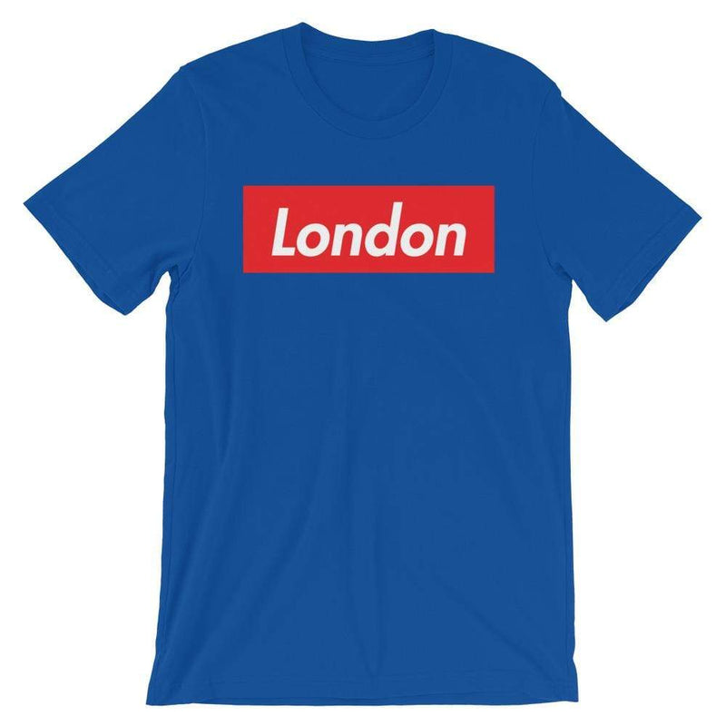 Repparel London True Royal / S Hypebeast Streetwear Eco-Friendly Full Cotton T-Shirt
