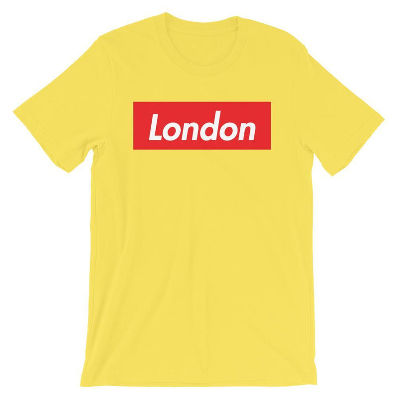 Repparel London Yellow / S Hypebeast Streetwear Eco-Friendly Full Cotton T-Shirt