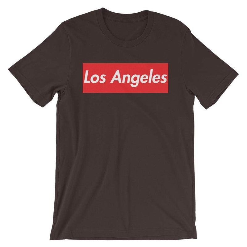 Repparel Los Angeles Brown / S Hypebeast Streetwear Eco-Friendly Full Cotton T-Shirt