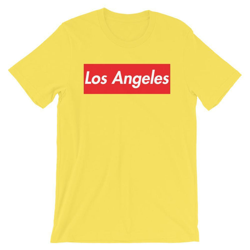 Repparel Los Angeles Yellow / S Hypebeast Streetwear Eco-Friendly Full Cotton T-Shirt
