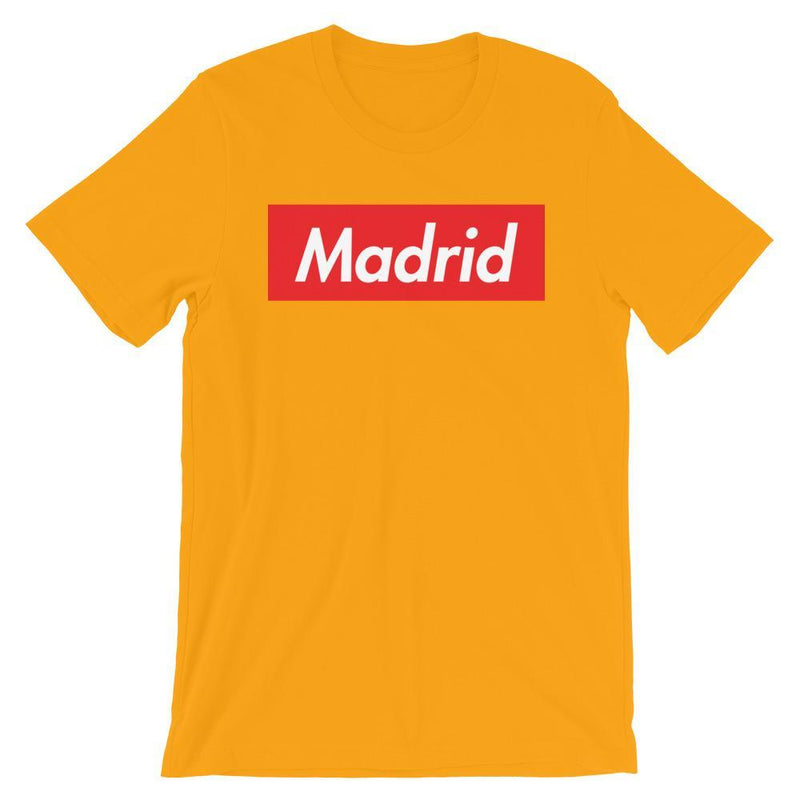 Repparel Madrid Gold / S Hypebeast Streetwear Eco-Friendly Full Cotton T-Shirt