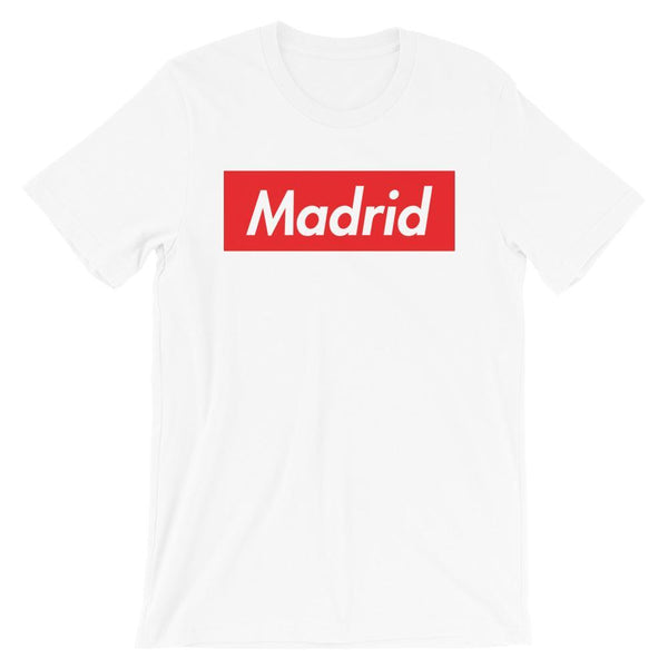 Repparel Madrid White / XS Hypebeast Streetwear Eco-Friendly Full Cotton T-Shirt