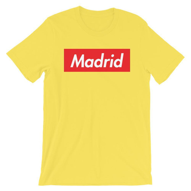 Repparel Madrid Yellow / S Hypebeast Streetwear Eco-Friendly Full Cotton T-Shirt