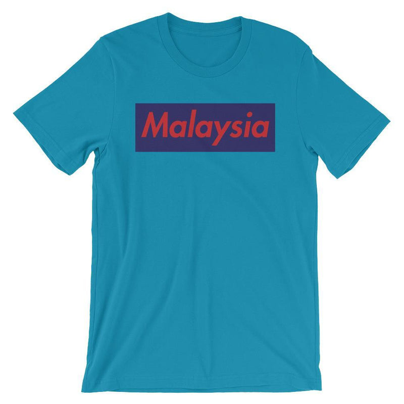 Repparel Malaysia Aqua / S Hypebeast Streetwear Eco-Friendly Full Cotton T-Shirt