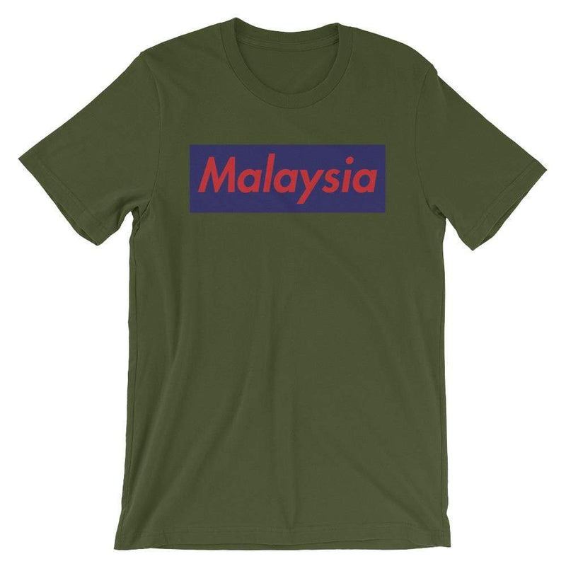 Repparel Malaysia Olive / S Hypebeast Streetwear Eco-Friendly Full Cotton T-Shirt