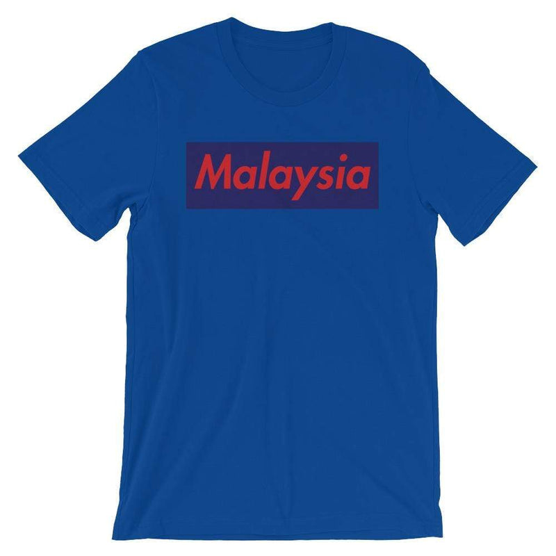 Repparel Malaysia True Royal / S Hypebeast Streetwear Eco-Friendly Full Cotton T-Shirt