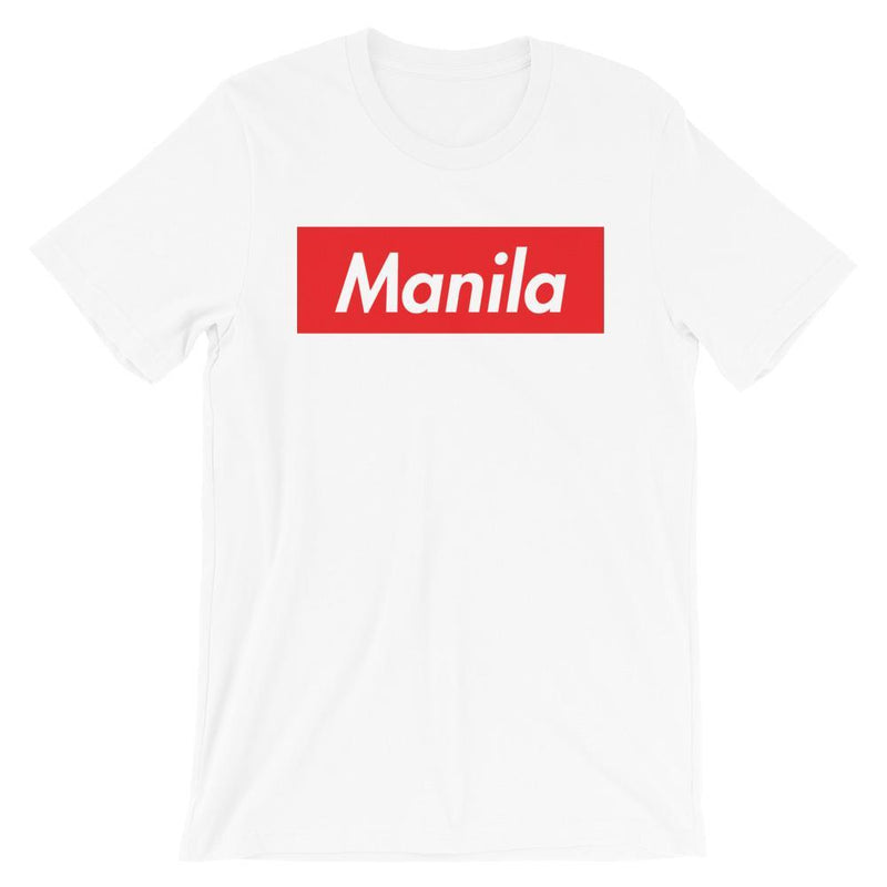 Repparel Manila White / XS Hypebeast Streetwear Eco-Friendly Full Cotton T-Shirt
