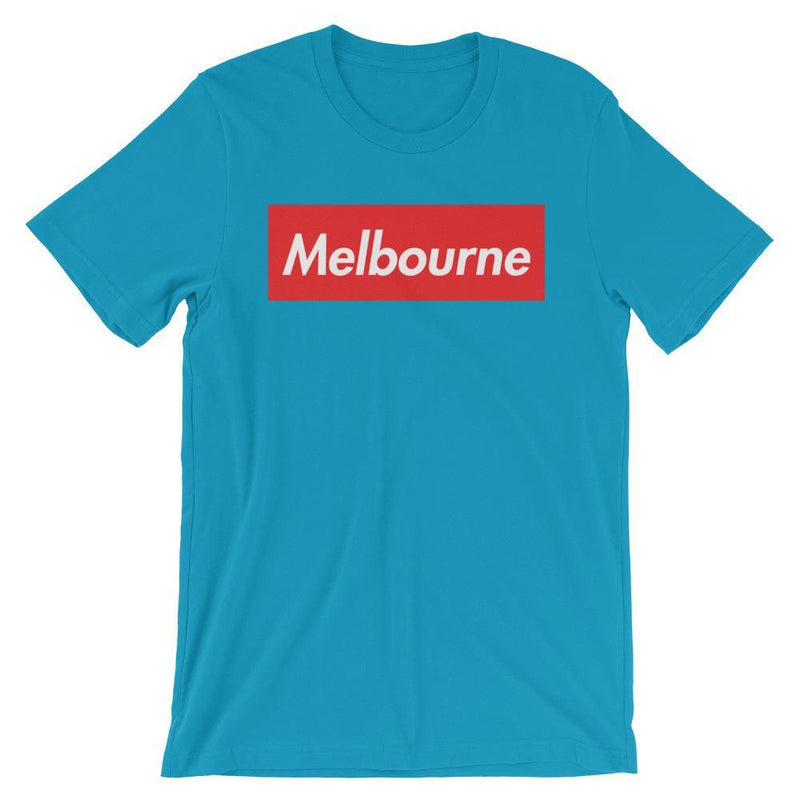 Repparel Melbourne Aqua / S Hypebeast Streetwear Eco-Friendly Full Cotton T-Shirt
